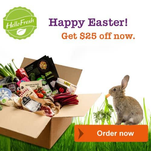 HelloFresh Easter Coupon