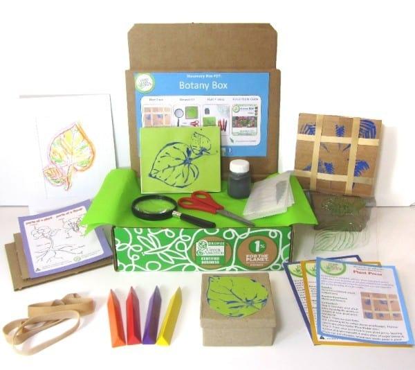 May 2014 Green Kid Crafts Botany Discovery Box