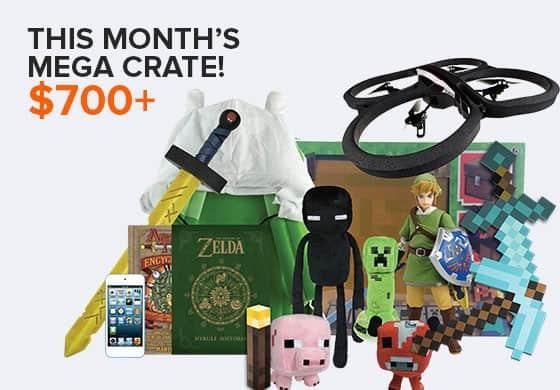 May 2014 Loot Crate Mega Crate