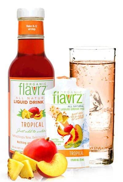 May 2014 Love with Food Box Spoiler - Flavrz's Tropical Peach water enhancer