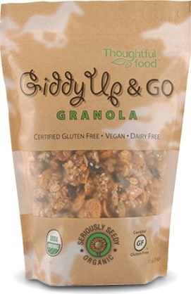 May 2014 Love with Food Box Spoiler - Giddy UP & Go Granola