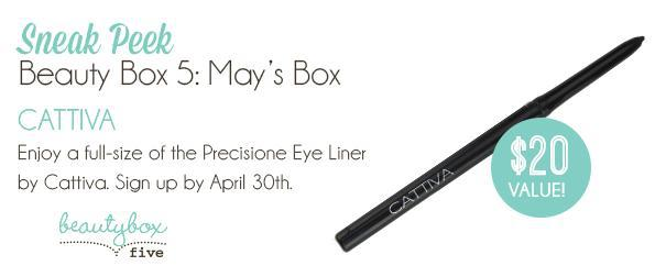 May Beauty Box 5 Box Spoiler