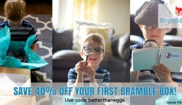 Save 40% Off Your 1st Bramble Box with Code betterthaneggs