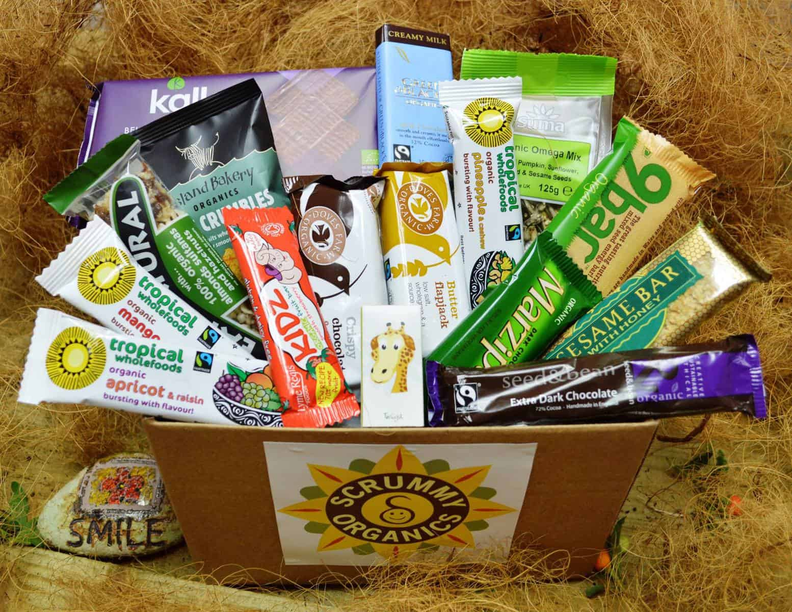 Scrummy Organics Snack Box Find Subscription Boxes