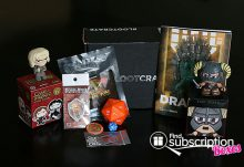 April 2014 Loot Crate Box Review - Box Contents