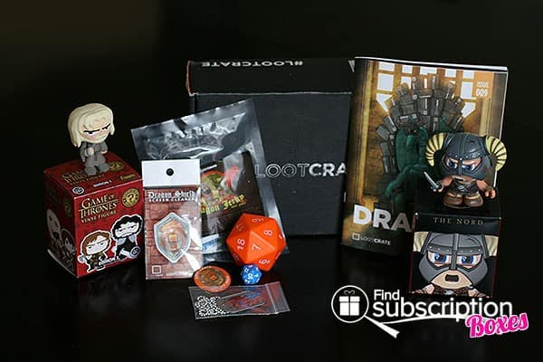 April 2014 Loot Crate Box Review - Box Contents