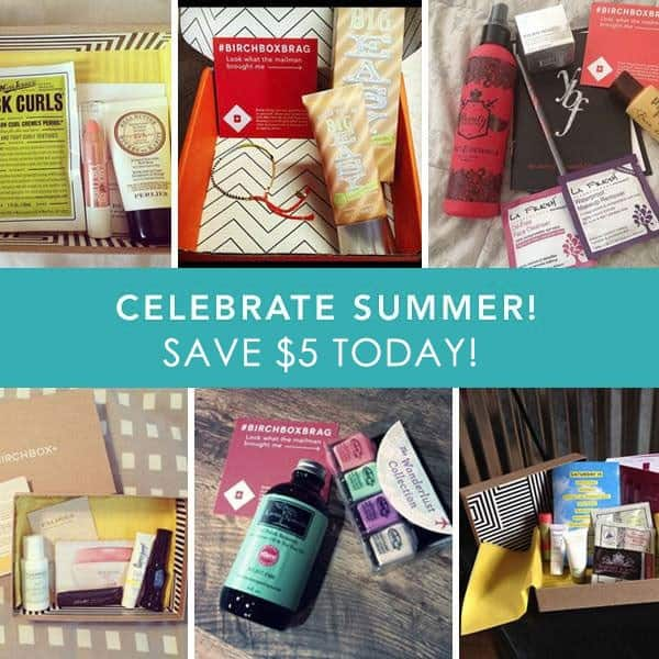 Birchbox $5 Off Subscriptions