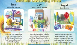 New Green Kid Crafts Summer Discovery Pack