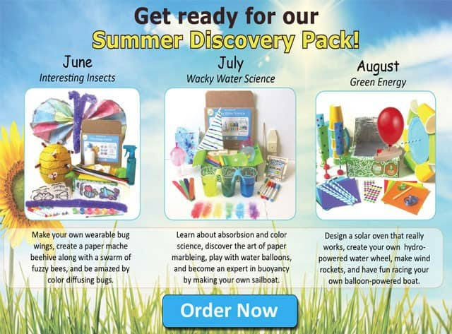 Green Kid Crafts Summer Discovery Pack