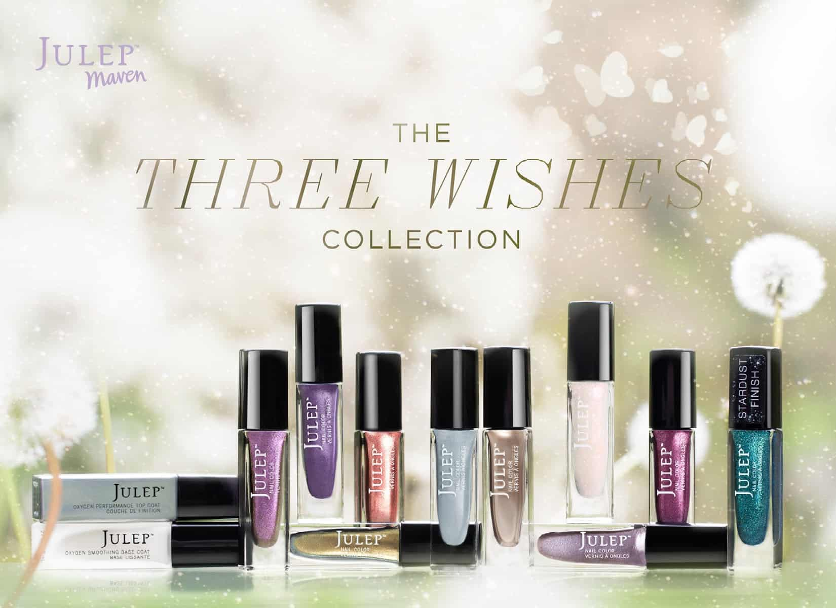 June 2014 Julep Maven Three Wishes Collection