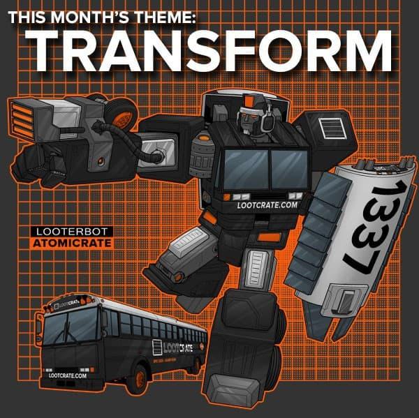June 2014 Loot Crate Theme Box Spoiler