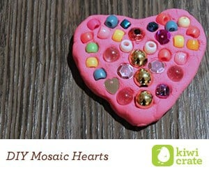 Kiwi Crate DIY Mosaic Heart