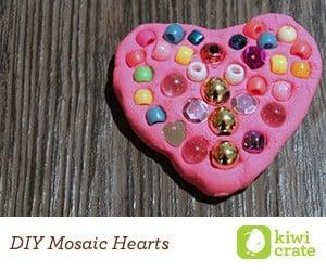 Kiwi Crate DIY Mosaic Heart