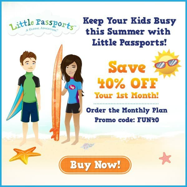 Little Passports 40% Off