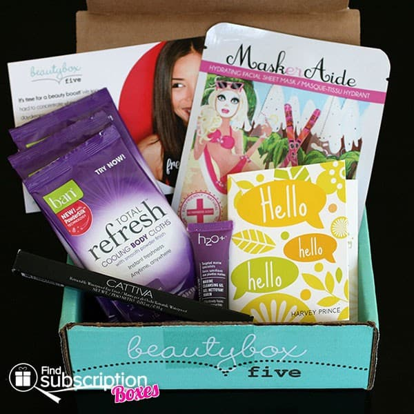 May 2014 Beauty Box 5 Box Review - Box Contents