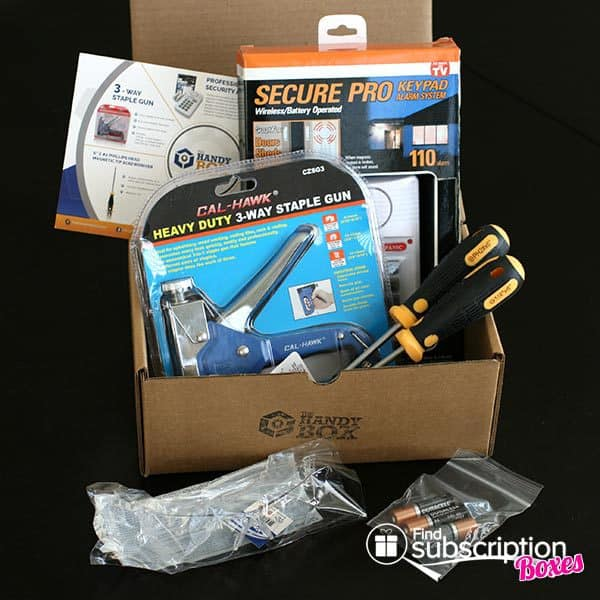 May 2014 The Handy Box Review