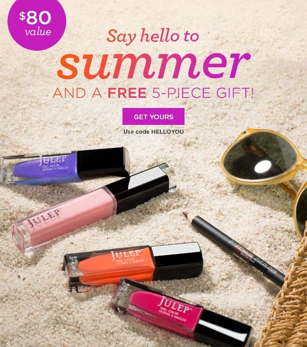 Julep Summer Brights Welcome Box