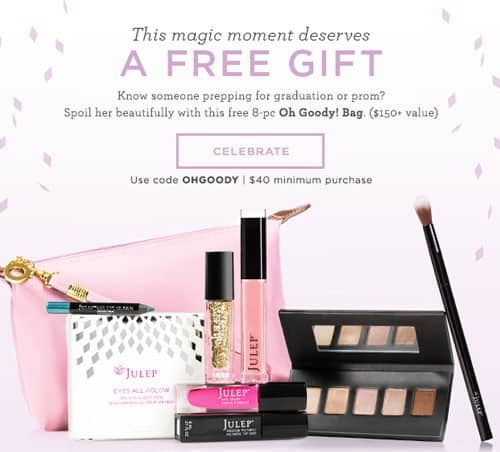 May Julep Gift with Purchase