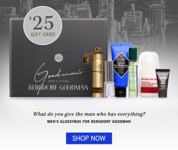 Men's GLOSSYBOX for Bergdorf Goodman