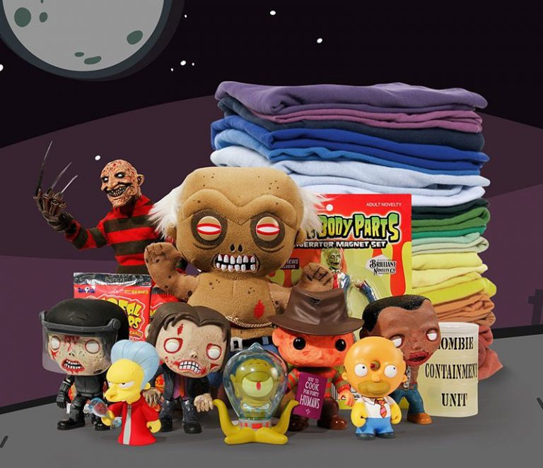 Nerd Block Horror Monthly Subscription Box