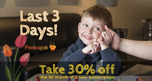 Peekapak 30% Off Coupon