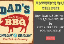 Taste Trunk Father's Day Free Trunk