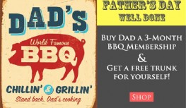 Get a FREE Taste Trunk with Purchase of Taste Trunk 3-Month BBQ Subscription