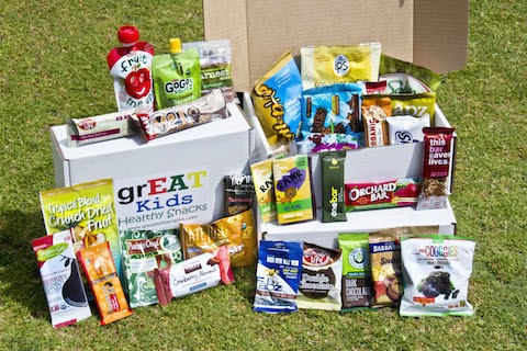Great Kids Snack Box Find Subscription Boxes