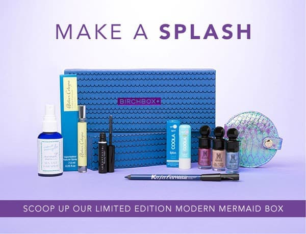 Birchbox Limited Edition Modern Mermaid Box