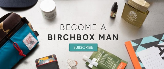Birchbox Man Subscription Box