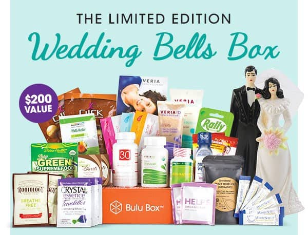 Bulu Box Limited Edition Wedding Bells Box
