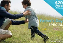 Citrus Lane $20 Off Father's Day Special