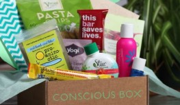 Get Your 1st Conscious Box Taster Box FREE with Code FREETASTER