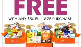 FREE 3-Month Bulu Box Subscription with $50 Purchase with Code THREE4ME