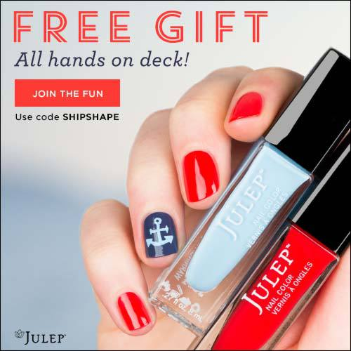 Julep Free Nautical by Nature Beauty Box