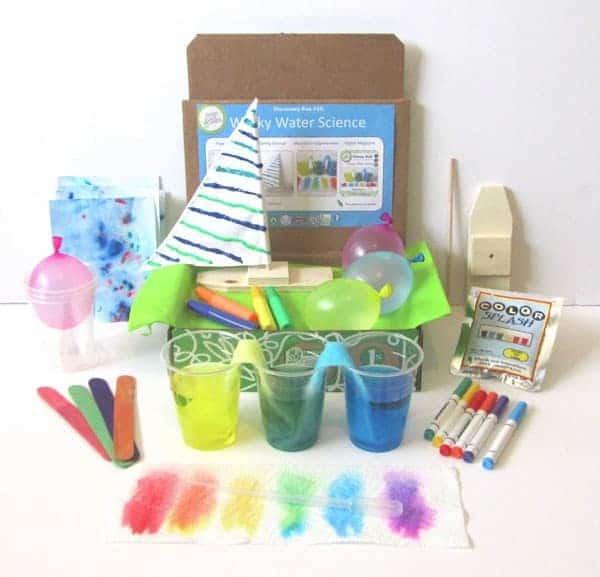 July 2014 Green Kid Crafts Box Spoiler - Wacky Water Science