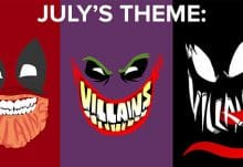 July 2014 Loot Crate Theme: Villains