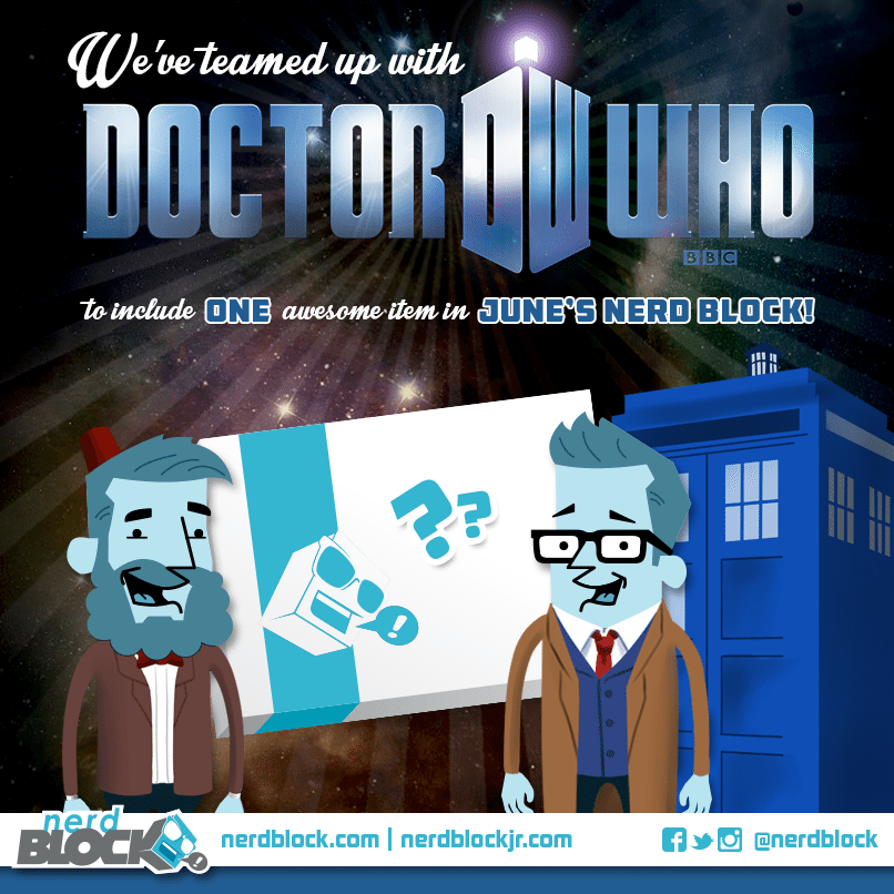 June 2014 Nerd Block Spoiler - Dr. Who