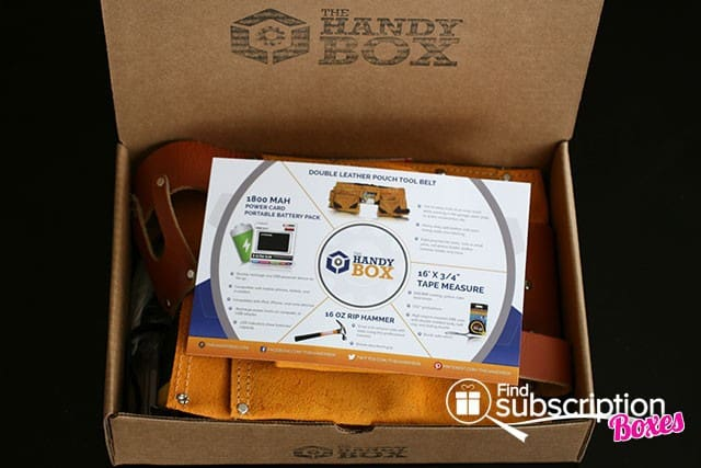 June 2014 The Handy Box Review - First Look