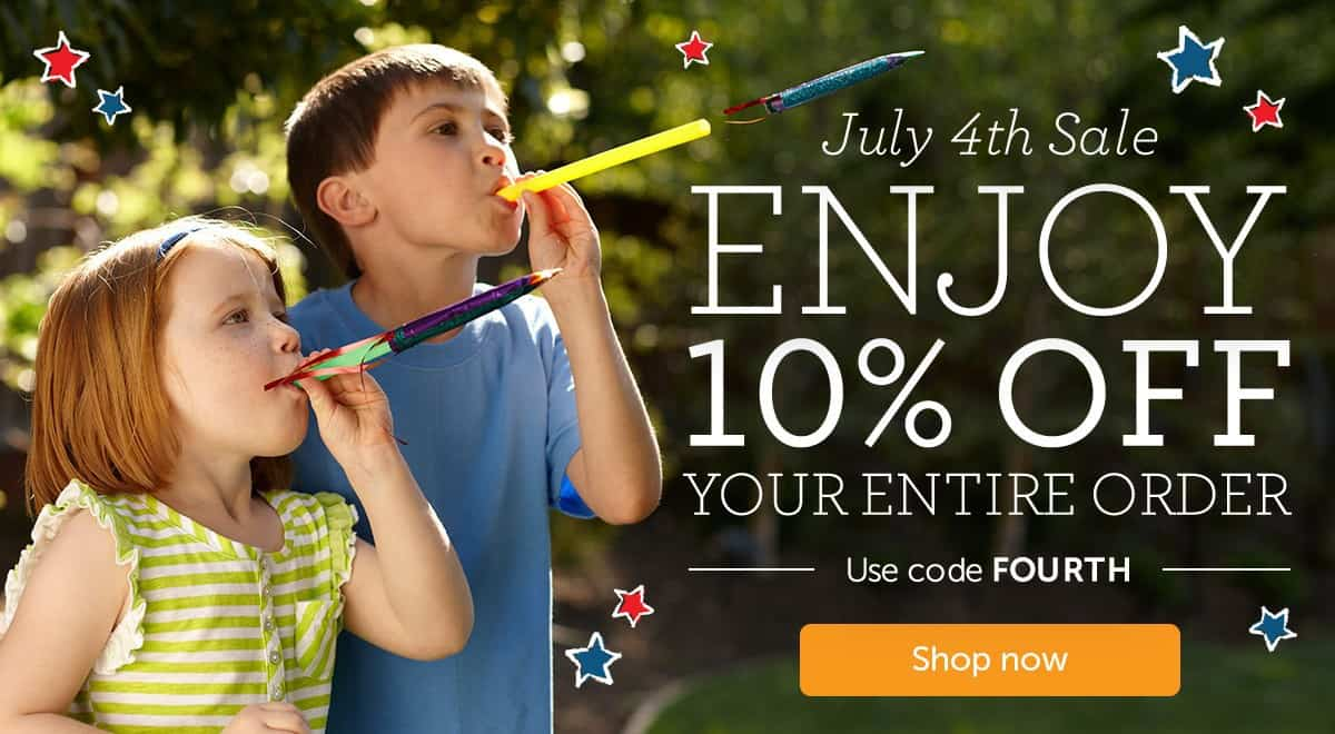 Kiwi Crate 4th of July Sale - Save 10%