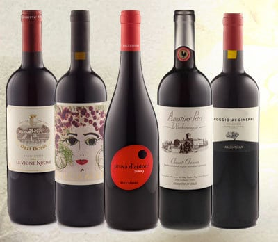 WineBee Italian Wine Club Monthly Subscription