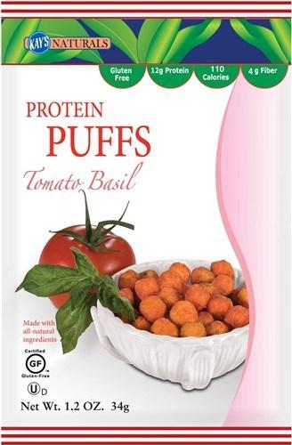 August 2014 Bulu Box Spoiler - Kay's Naturals Tomato Basil Puffs