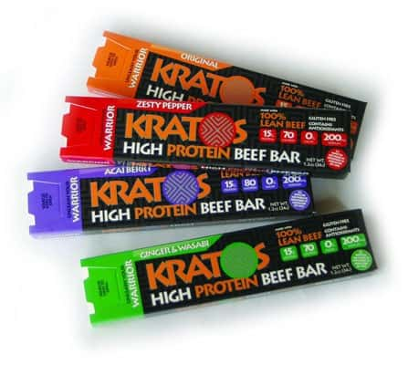 August 2014 Bulu Box Box Spoilers - Kratos Beef Bars