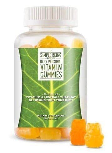 August 2014 Bulu Box Spoiler - Simple Being Daily Personal Vitmain Gummies