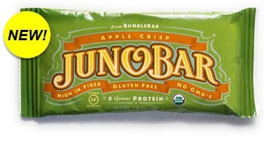 August 2014 Love with Food Box Spoiler - Apple Crisp Juno Bar by Bumble Bar