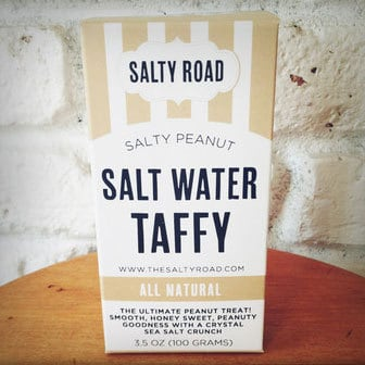 August 2014 Love with Food Box Spoiler - Salty Peanut Taffy by Salty Road