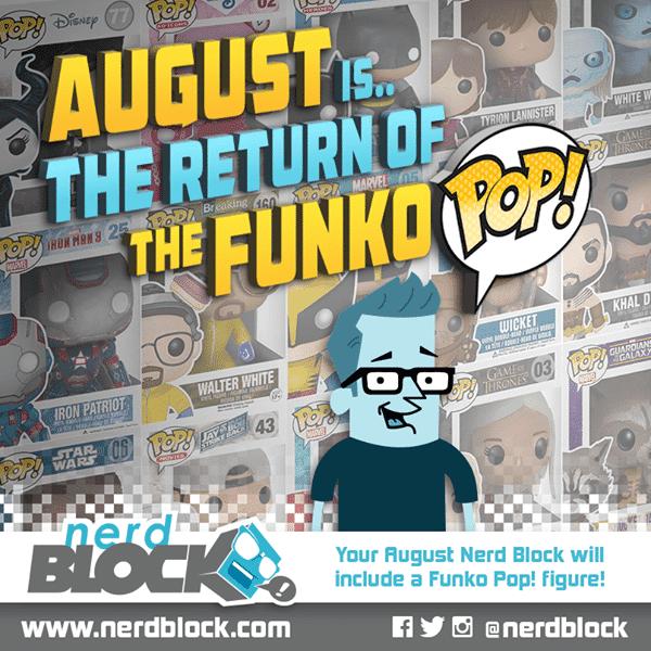 August 2014 Nerd Block Box Spoiler