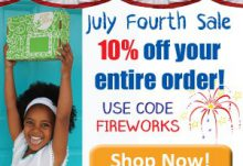 Green Kid Crafts 4th of July Sale - 10% Off