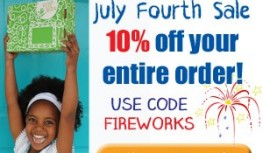 Save 10% Off Your Entire Green Kid Crafts Order with Code FIREWORKS