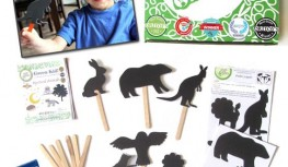 New Green Kid Crafts FREE Trial Creativity Kit – Shadow Puppets!